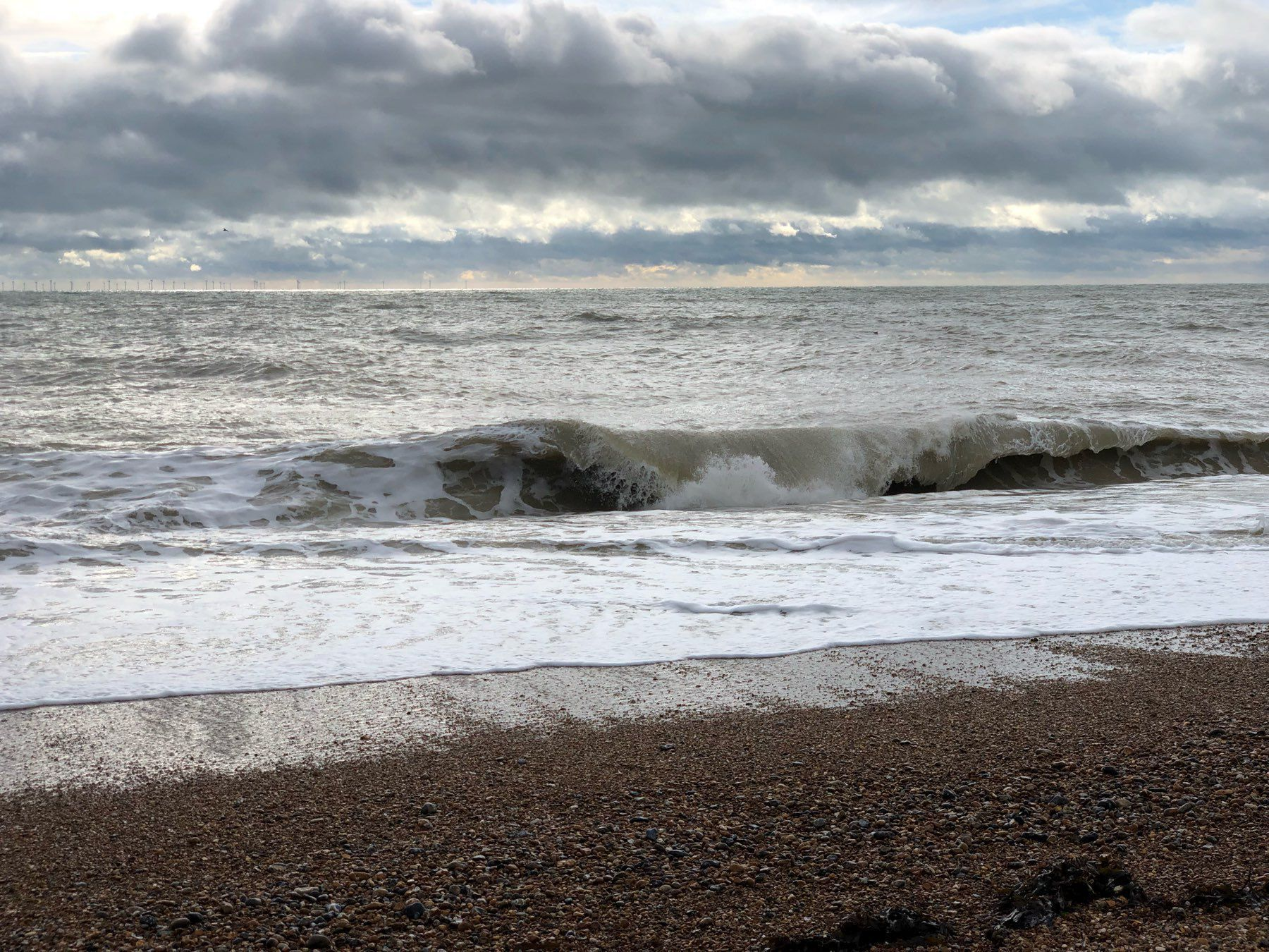 Waves on Shoreham Beach