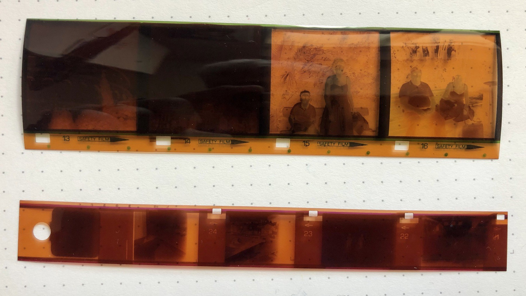 126 and 110 format negatives