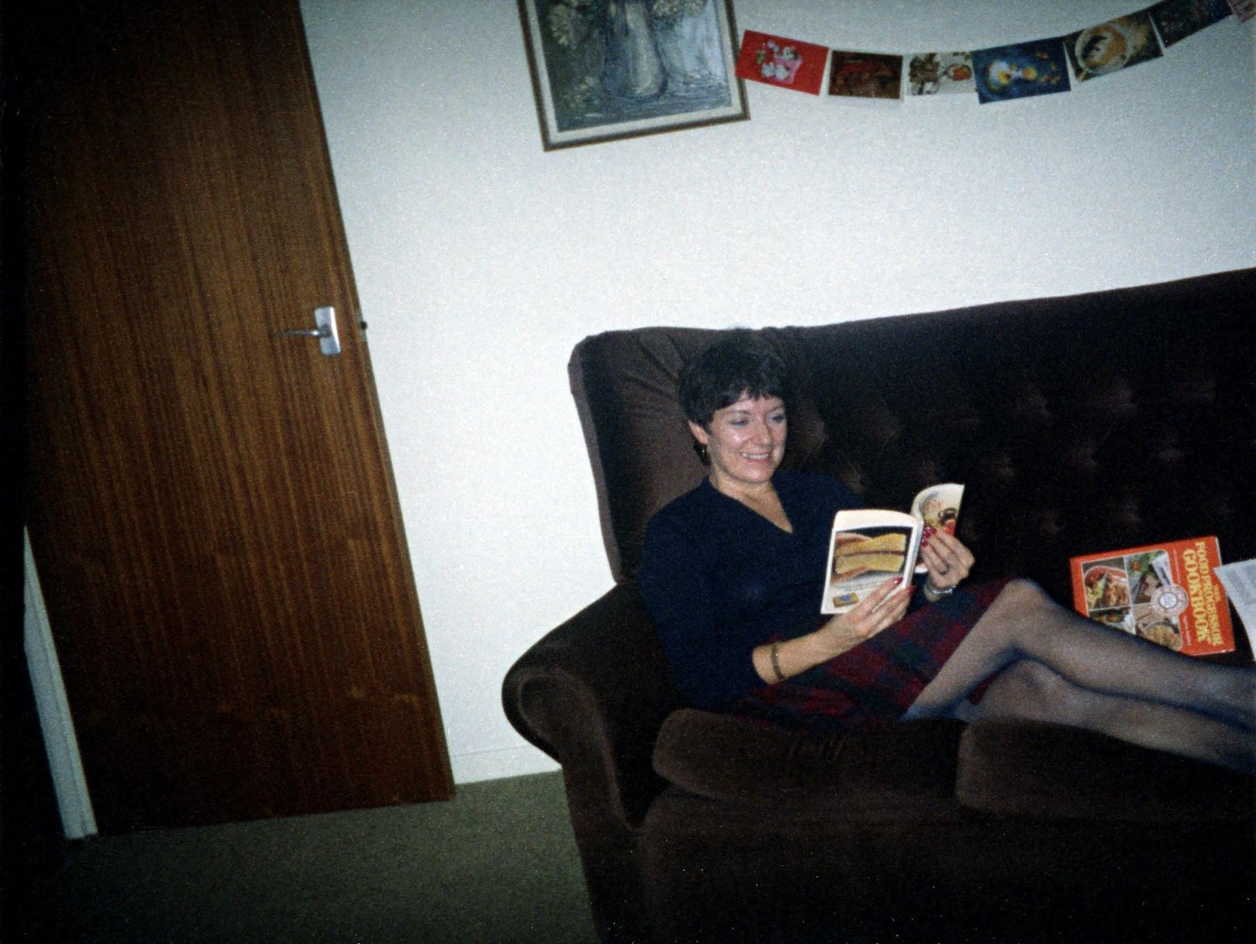 Ann Tinworth on Christmas Day 1983.