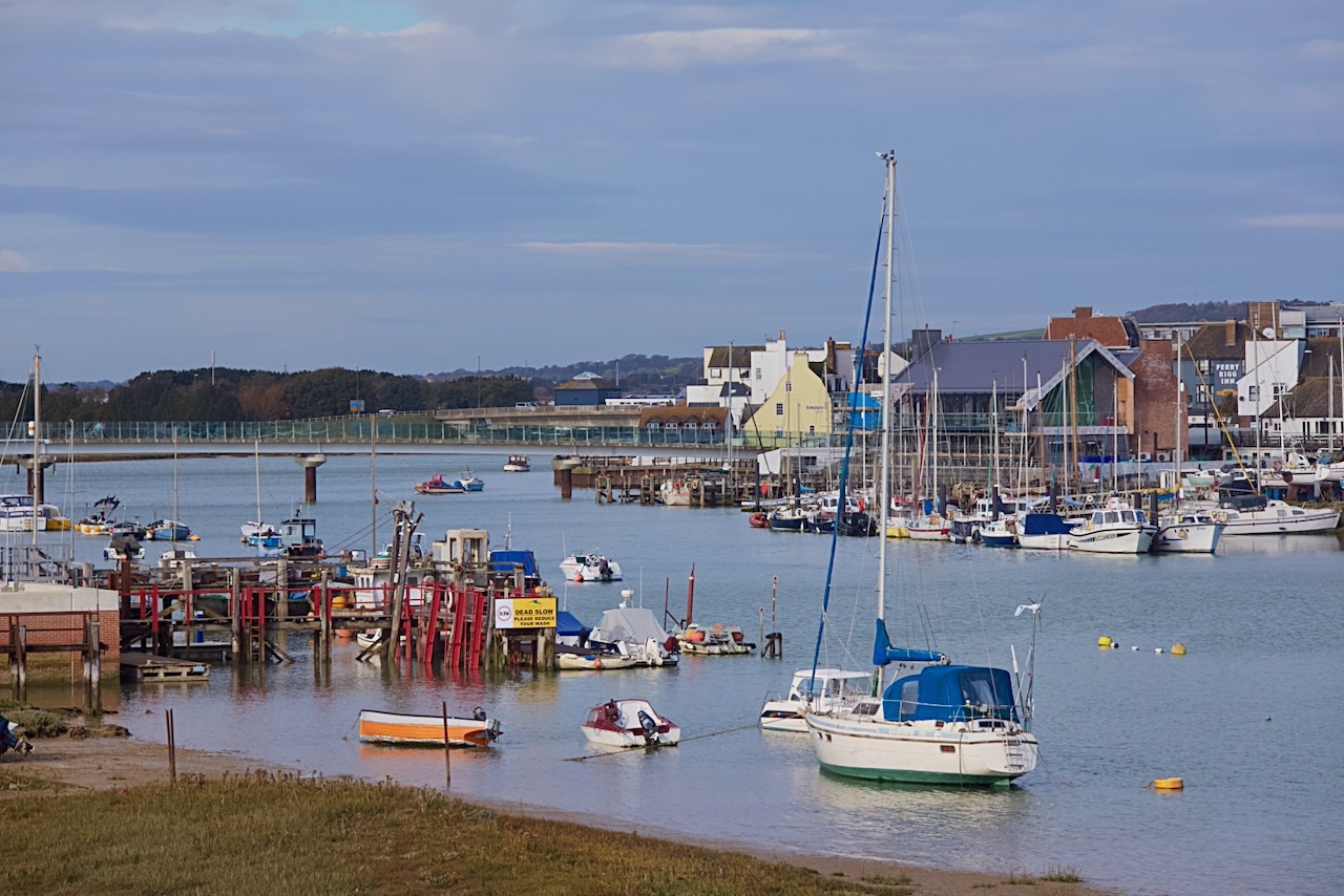 The River Adur from Emerald Quay