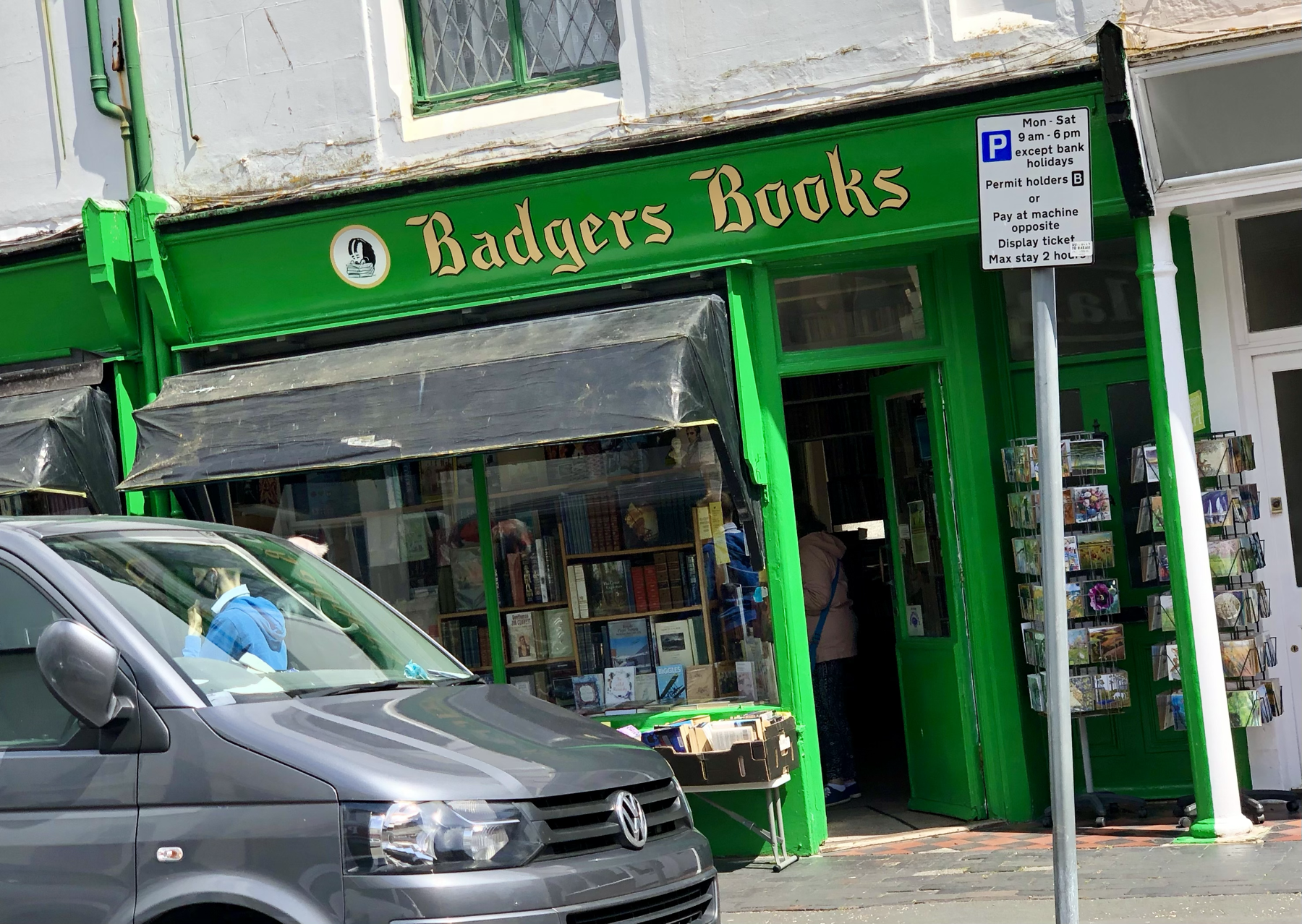 Badgers Books in Worthing