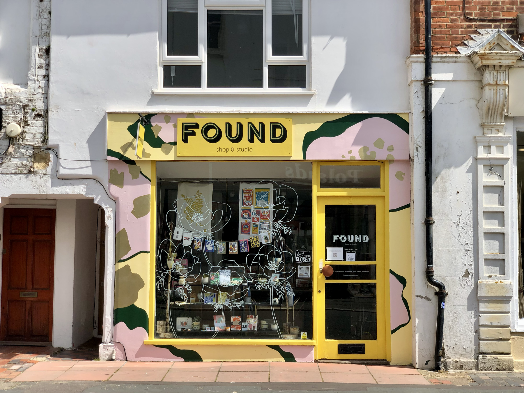 Found, a shop in Worthing